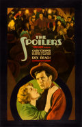 "Movie Posters:Western, The Spoilers (Paramount, 1930). Fine+ on Paper. Full-Bleed Linen Finish One Sheet (27"" X 41.5"").. ..."