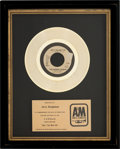 "Music Memorabilia:Memorabilia, The Human League ""Don't You Want Me"" Platinum Sales Award (Virgin/A&M, 2397-S)...."