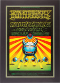 Music Memorabilia:Posters, Iron Butterfly Fillmore West Concert Poster BG-141 (1968). ...