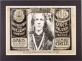 """Music Memorabilia:Posters, Big Brother and the Holding Company """"James Gurley/Tribal Stomp"""" Avalon Concert Poster FD-48 (Family Dog, 1967). ..."""