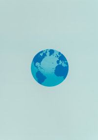 Ed Ruscha (b. 1937) The World and It's Surroundings, from The Global Edition Series, 1982