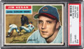 Baseball Cards:Singles (1950-1959), 1956 Topps Jim Hegan (White Back) #48 PSA Gem Mint 10 - Pop One!...