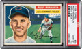 Baseball Cards:Singles (1950-1959), 1956 Topps Rudy Minarcin (White Back) #36 PSA Gem Mint 10 - Pop Two! ...