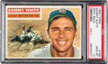 Baseball Cards:Singles (1950-1959), 1956 Topps Sammy White (Gray Back) #168 PSA Gem Mint 10 - Pop Two!...
