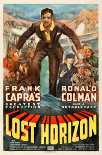 "Lost Horizon (Columbia, 1937). Fine on Linen. One Sheet (27"" X 41"")"
