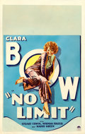 Movie Posters:Comedy, No Limit (Paramount, 1931). Fine-. Window Card (13...
