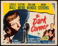 "Movie Posters:Film Noir, The Dark Corner (20th Century Fox, 1946). Fine/Very Fine. Title Lobby Card (11"" X 14""). Film Noir.. ..."