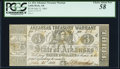 Obsoletes By State:Arkansas, (Little Rock), AR- State of Arkansas $3 July 21, 1863 Cr. 42A PCGS Choice About New 58.. ...