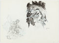 Original Comic Art:Sketches, Tom Grindberg - Figure Study Sketches Original Art (undated)....