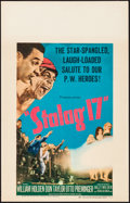 "Movie Posters:War, Stalag 17 (Paramount, 1953) Near Mint. Window Card (14"" X 22""). War...."
