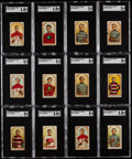 Hockey Cards:Lots, 1911-12 C55 Imperial Tobacco Hockey SGC Graded Collection (12)....
