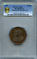 """German States:Brandenburg, German States: Brandenburg bronzed copper Specimen """"300thAnniversary of the Reformation"""" Medal 1839 SP64 PCGS,..."""