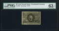 Fractional Currency:Second Issue, Fr. 1284 25¢ Second Issue PMG Choice Uncirculated 63 EPQ.. ...