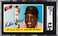 Baseball Cards:Singles (1950-1959), 1955 Topps Willie Mays #194 SGC Mint+ 9.5 - None Higher....