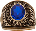 Basketball Collectibles:Others, 1971 UCLA Bruins Basketball National Championship Ring....