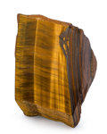 Lapidary Art:Carvings, Tiger's-Eye. South Africa. 5.07 x 4.41 x 3.54 inches (12.89 x11.20 x 9.00 cm). ...
