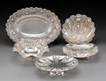 Silver Holloware, Continental:Holloware, A Group of Five Silver Table Articles Including Egyptian, 20th century. Marks to Egyptian table articles: (assay mark-900), ... (Total: 5 Items)