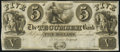 Obsoletes By State:Michigan, Tecumseh, MI- Tecumseh Bank $5 18__ Remainder Extremely Fine-About Uncirculated.. ...