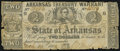 Obsoletes By State:Arkansas, Little Rock, AR- State of Arkansas $2 Mar. 14, 1862 Cr. 36 Good-Very Good.. ...