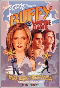 Buffy: The Vampire Slayer: Once More With Feeling & Other Lot (Warner Brothers, 2001) Rolled, Near Mint/Mint. Te...