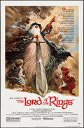 "Movie Posters:Animation, The Lord of the Rings (United Artists, 1978) Folded, Very Fine/Near Mint. One Sheet (27"" X 41""). Tom Jung Artwork. Animation..."