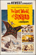 """Movie Posters:Fantasy, The Lost World of Sinbad & Other Lot (American International,1965) Folded, Overall: Fine/Very Fine. One Sheets (2) (27"""" X 4...(Total: 2 Items)"""