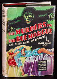 Murders in the Rue Morgue (Grosset & Dunlap, 1932) Fine/Very Fine. Hardcover Book with Reproduction Dust Jacket (315...