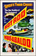 """Movie Posters:Action, Hot Rod Hullabaloo (Allied Artists, 1966) Folded, Fine/Very Fine. One Sheet (27"""" X 41""""). Action...."""