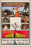 """Movie Posters:Musical, South Pacific (20th Century Fox, 1959) Folded, Fine/Very Fine. One Sheet (27"""" X 41""""). Musical...."""