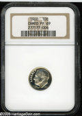 Proof Roosevelt Dimes: , 1960 10C PR 69 Cameo NGC. ...