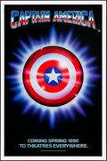 """Movie Posters:Action, Captain America (Columbia/Tristar, 1990) Rolled, Very Fine-. OneSheets (5) Identical (27"""" X 41"""") SS Advance. Action...."""