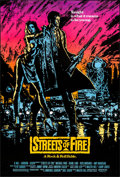 """Movie Posters:Action, Streets of Fire (Universal, 1984) Rolled, Very Fine+. One Sheets (5) (27"""" X 41"""") SS Regular & Advance Styles. Action.... (Total: 5 Items)"""