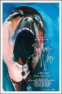 "Pink Floyd: The Wall (MGM, 1982) Rolled, Very Fine+. One Sheet (27"" X 41""). Gerald Scarfe Artwork. Rock and Ro..."