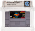 Video Games:Nintendo, Star Fox Super Weekend (NFR) (SNES, Nintendo, 1993) Wata 6.0 Loose (Cartridge)....