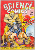 Original Comic Art:Covers, Joe Simon Science Comics #4 Cover Re-Creation Original Art (c. 2000s)....