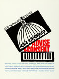 """Movie Posters:Drama, Advise & Consent by Saul Bass (Art Krebs Screen Studio, 1984).Rolled, Very Fine+. Silk Screen Poster (26.5"""" X 35.5"""").. ..."""
