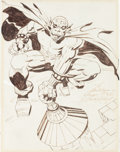 Original Comic Art:Sketches, Jack Kirby The Demon Sketch Original Art (c. 1970s)....(Total: 2 Original Art)