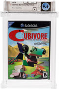 Video Games:Nintendo, Cubivore: Survival of the Fittest (GameCube, Atlus, 2002) Wata 9.6 A (Seal Rating)....