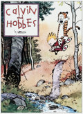 Memorabilia:Comic-Related, Bill Watterson Calvin and Hobbes Signed Limited Edition Lithograph Print #600/1000 (Watterson, 1992)....