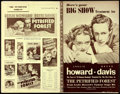 """Movie Posters:Crime, The Petrified Forest (Warner Brothers, 1936). Fine+. Uncut Pressbook (28 Pages, 11.25"""" X 17.25"""").. ..."""