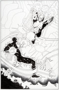 Original Comic Art:Splash Pages, Jim Starlin and Art Thibert Death of the New Gods #8 SplashPage 5 Original Art (DC, 2008)....