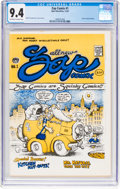 Silver Age (1956-1969):Alternative/Underground, Zap Comix #1 (1st Printing - Plymell) (Apex Novelties, 1967) CGC NM 9.4 Off-white to white pages....