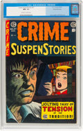 Golden Age (1938-1955):Crime, Crime SuspenStories #27 Gaines File Pedigree 6/12 (EC, 1955) CGC NM- 9.2 Off-white to white pages....