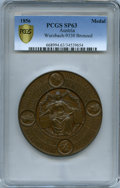"""Austria, Austria: """"Society of German Natural Scientists and Physicians' 32nd Meeting"""" bronzed copper Specimen Medal 1856 SP63 PCGS,..."""