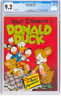 Four Color #178 Donald Duck (Dell, 1947) CGC NM- 9.2 Off-white pages
