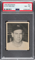 Baseball Cards:Singles (1940-1949), 1948 Bowman Floyd Bevens (Short Print) #22 PSA NM-MT 8. ...