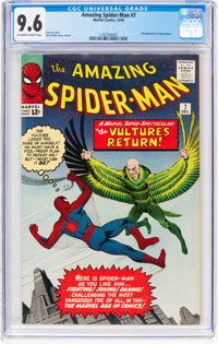 The Amazing Spider-Man #7 (Marvel, 1963) CGC NM+ 9.6 Off-white to white pages