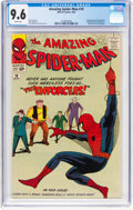 Silver Age (1956-1969):Superhero, The Amazing Spider-Man #10 (Marvel, 1964) CGC NM+ 9.6 Whitepages....