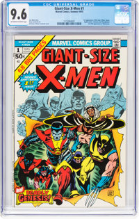Giant-Size X-Men #1 (Marvel, 1975) CGC NM+ 9.6 Off-white to white pages
