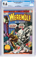 Bronze Age (1970-1979):Horror, Werewolf by Night #32 (Marvel, 1975) CGC NM+ 9.6 Off-white to white pages....